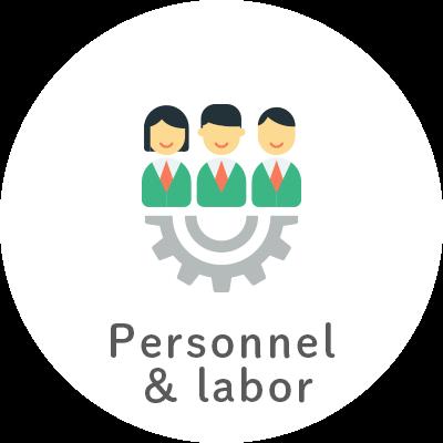 Personnel & labor